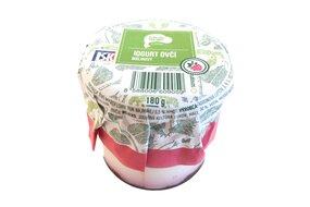 Jogurt ovčí malina 180 ml