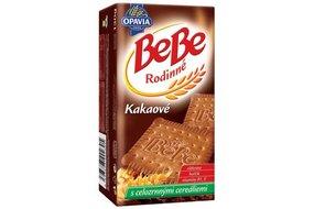 BeBe Rodinné kakaové cereálne sušienky 130 g