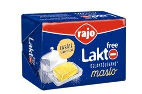 Maslo bezlaktózové Rajo 125 g