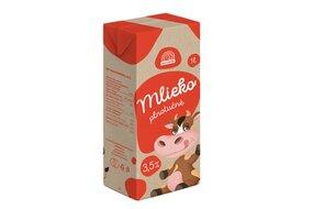 Mlieko trvanlivé plnotučné 3,5% 1 l