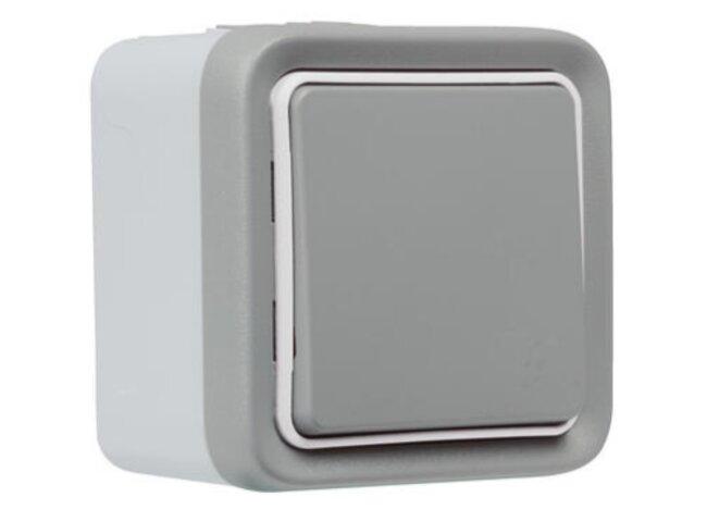 GO Plexo Netatmo n.o. spínač bezdrôtový sivý SMART 069794