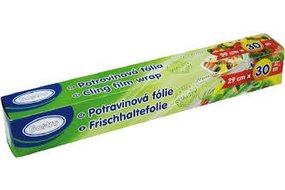 Potravinová fólia 29 cm / 20 m 115-3