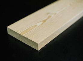 Terasová doska sibírsky smrekovec 28x143x4000 mm -  Hladká