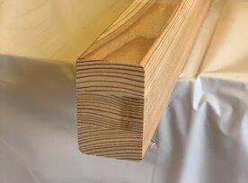 Podkladový hranol tuzemský smrekovec - lepený  45x70x4000 mm