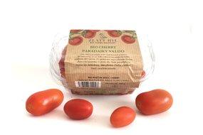 Domáce BIO Cherry paradajky VALDO 250g, Zlatý Hyľ